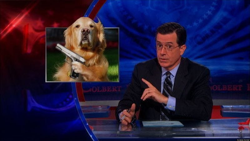 Illustration for article titled Stephen Colbert reported to be the top choice to take David Letterman's job