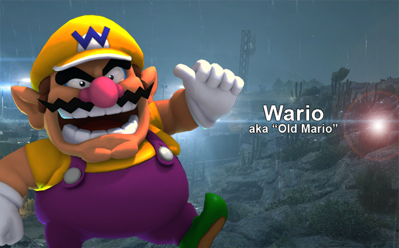 ok bear with me what if mario and wario are the same guy