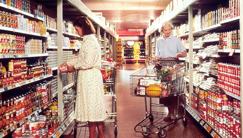 Illustration for article titled The Biggest Difference in How Americans Bought Food in 1960 and Today
