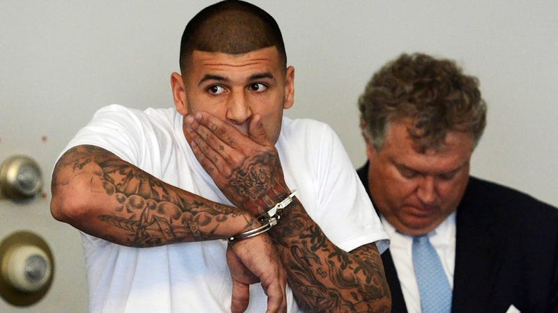 Illustration for article titled What Did Police Find In Aaron Hernandez's Home?