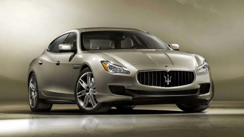 Illustration for article titled The 2013 Maserati Quattroporte: This Is It