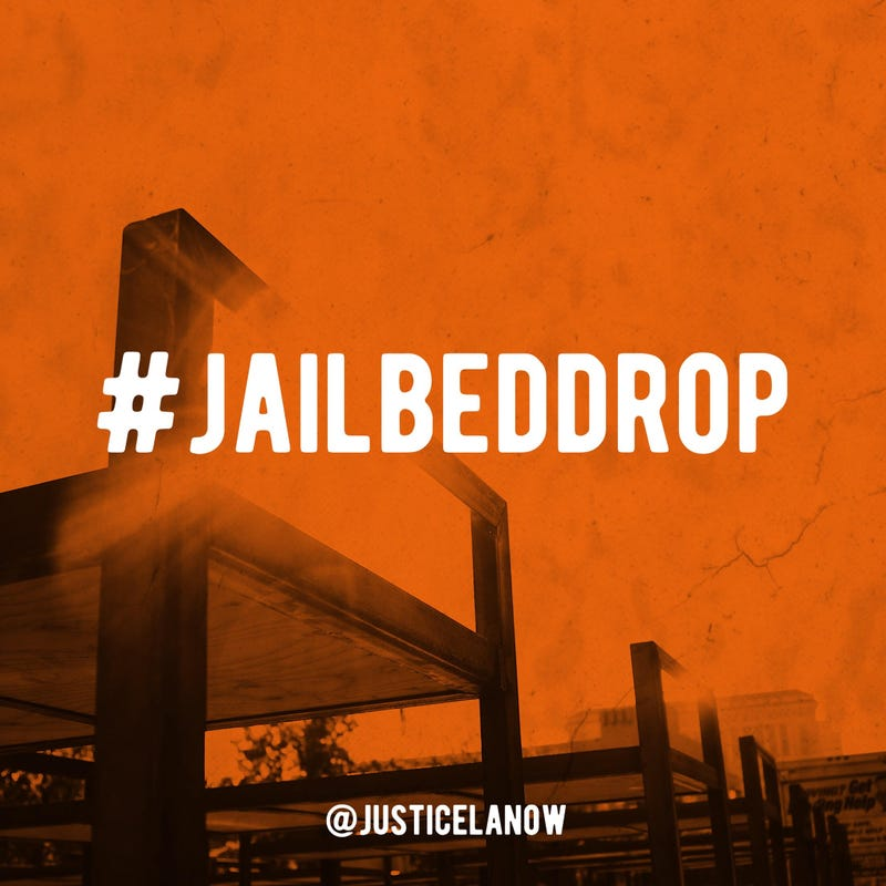 Illustration for article titled #JailBedDrop: Los Angeles' Fight Against a Multibillion-Dollar Jail