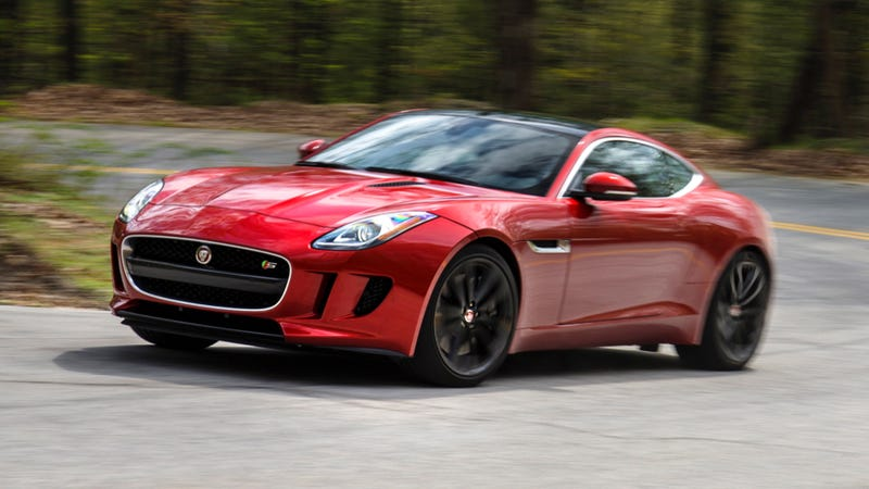 Jaguar FType R Has AWD And HP But The Manual S Has More Fun - All wheel drive jaguar