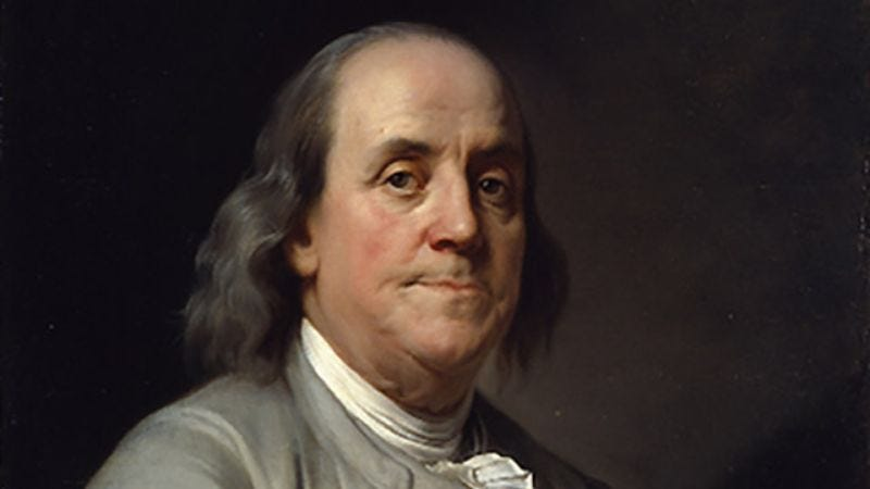 Illustration for article titled How Many Of These Ben Franklin Sayings Inspire You?