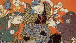 Illustration for article titled Even In 19th Century Japan, People Loved To See Cats Doing Human Things
