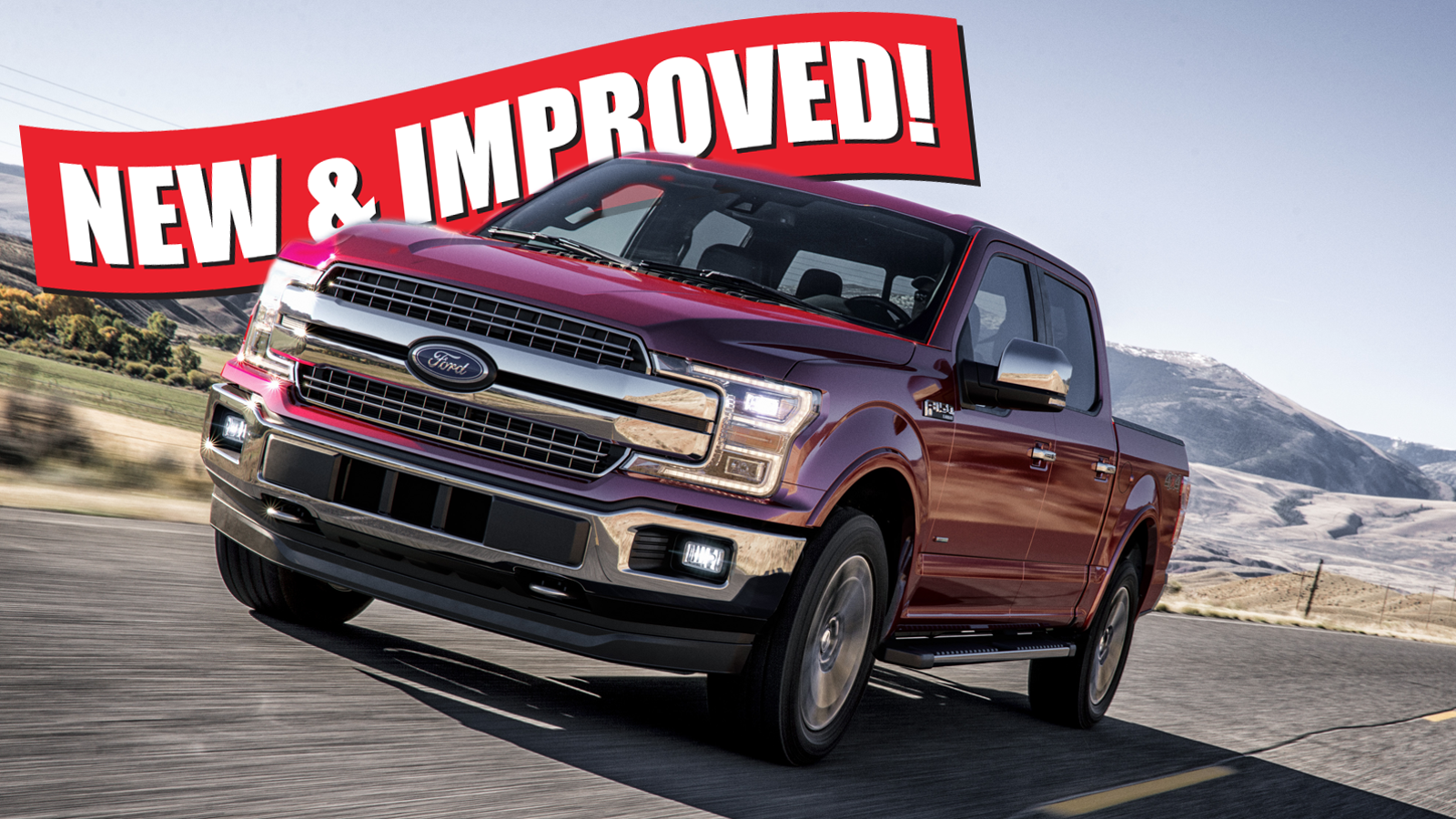 Ford Truck Towing Capacity >> The 2018 Ford F-150 Adds 1-2 MPG And Can Tow Nearly 1,000 ...