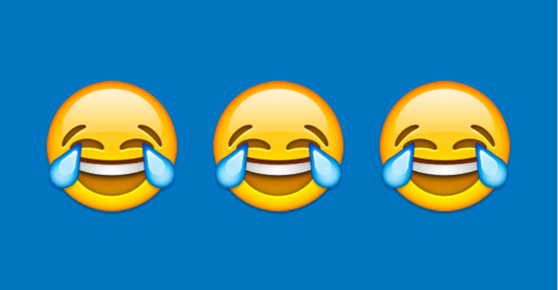 Illustration for article titled And Your 2015 Word of the Year Is...the Face With Tears of Joy Emoji?