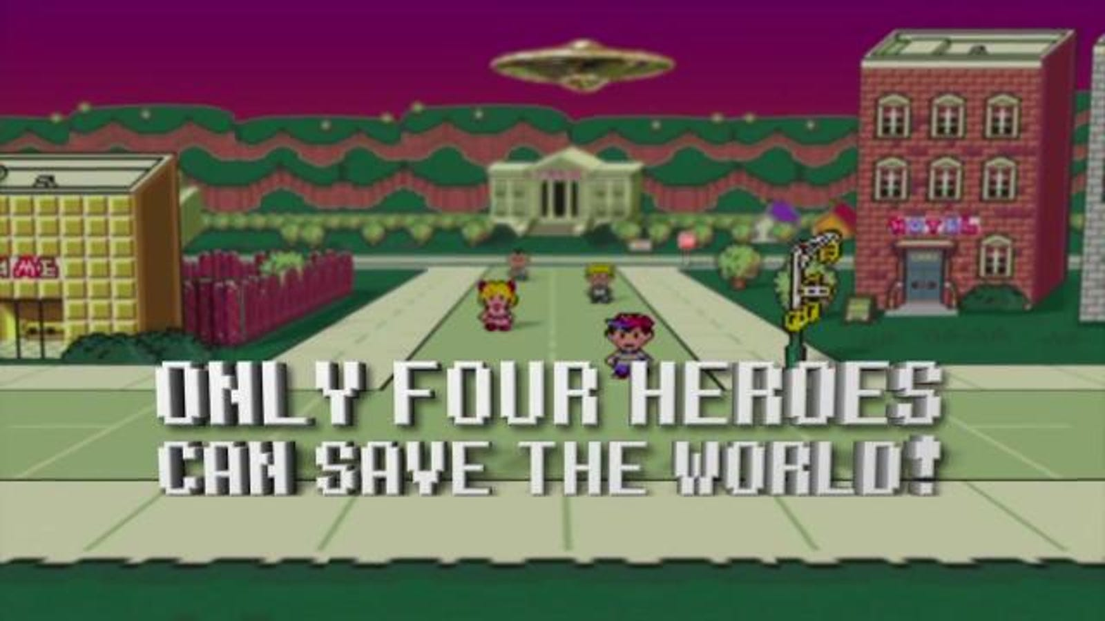 Surprise! Earthbound Is Out On The Wii U Today