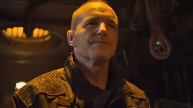Sarge is on the hunt. But why does he look like Phil Coulson?