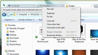 Illustration for article titled Clover Brings Chrome-Style Tabs to Windows Explorer