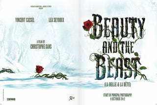 Illustration for article titled First Look at Gans' Beauty and the Beast Promo
