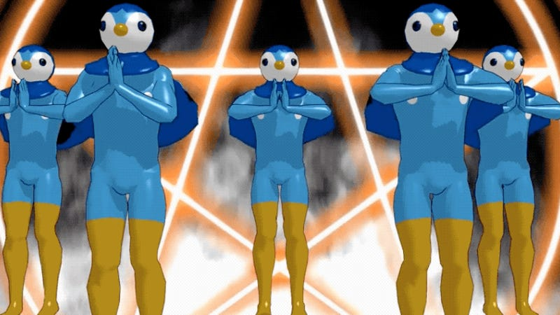 Piplup From Pokémon Turned Into Internet Nightmares