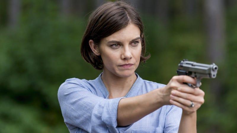 Lauren Cohan as Maggie Rhee.