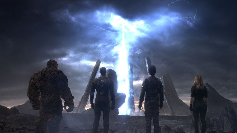 Illustration for article titled Fourth time is not the charm for the Fantastic Four