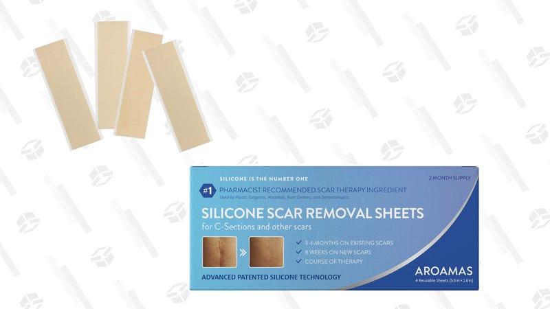 Aroamas Silicone Scar Removal Sheets | $25 | Amazon
