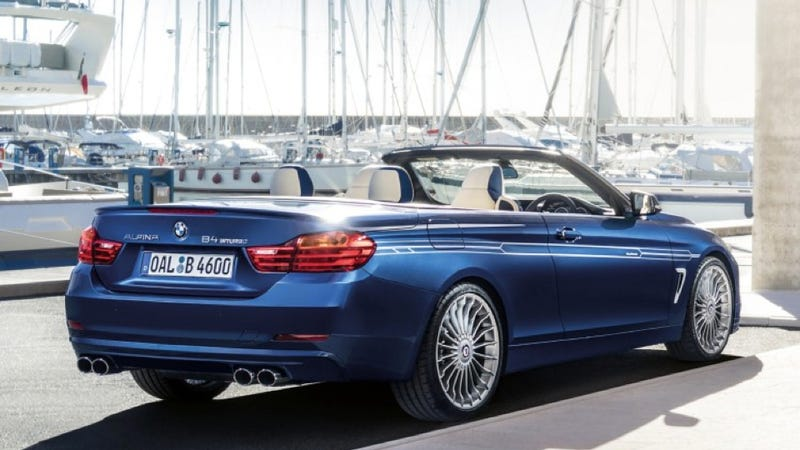 Illustration for article titled Would The Alpina B4 Convertible Make You Forget About An M4 Drop-Top?