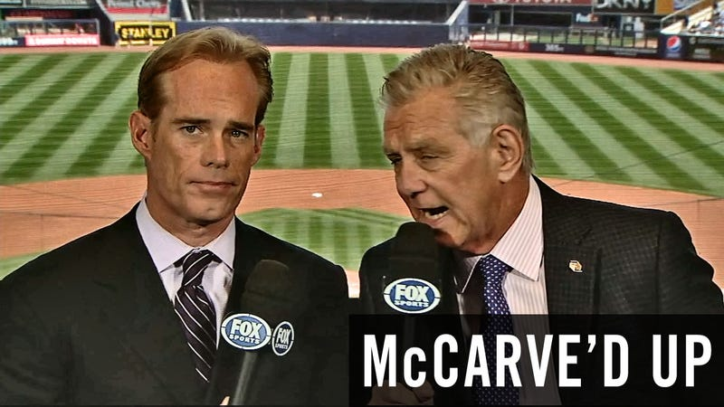 Illustration for article titled McCarve'd Up: Your Weekly Look At The Stupidest Things Tim McCarver Said During Saturday's Game