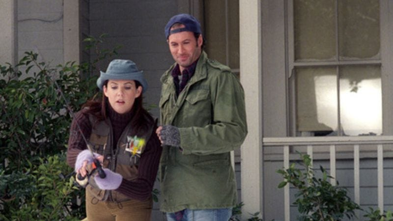 """Illustration for article titled Gilmore Girls: """"I Solemnly Swear""""/""""Lorelai Out Of Water"""""""