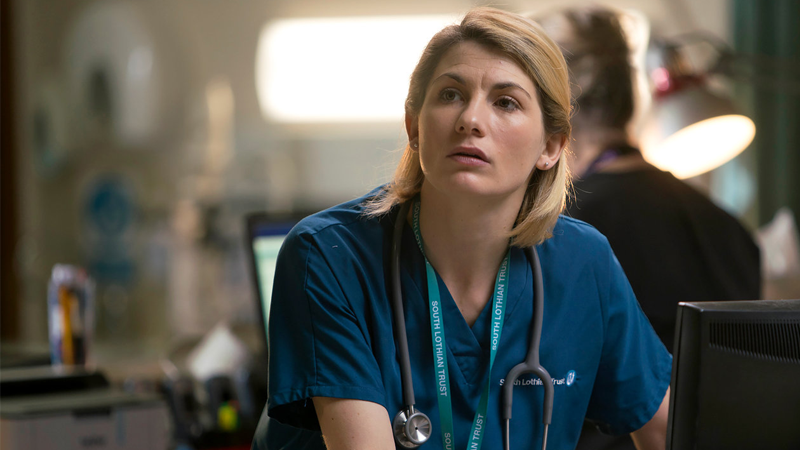 Jodie Whittaker as an altogether different kind of doctor.