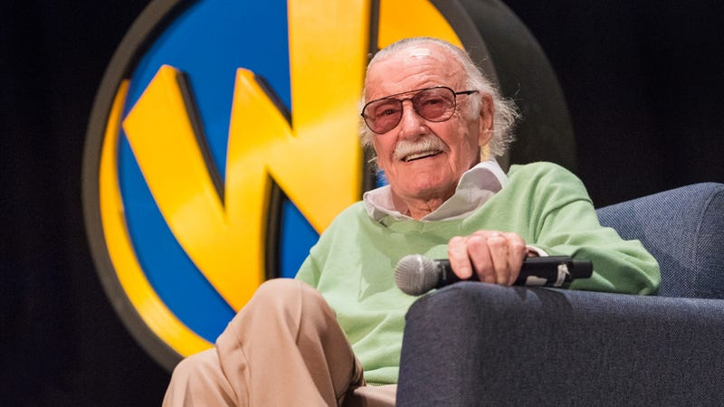 Illustration for article titled Stan Lee sues ex-manager for fraud, stealing his blood