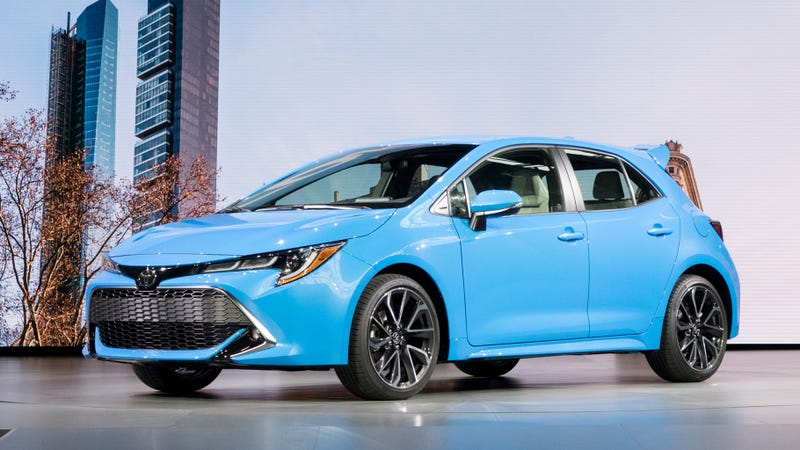 Why The 2019 Toyota Corolla Hatchback With A Manual Is Such A Big Deal