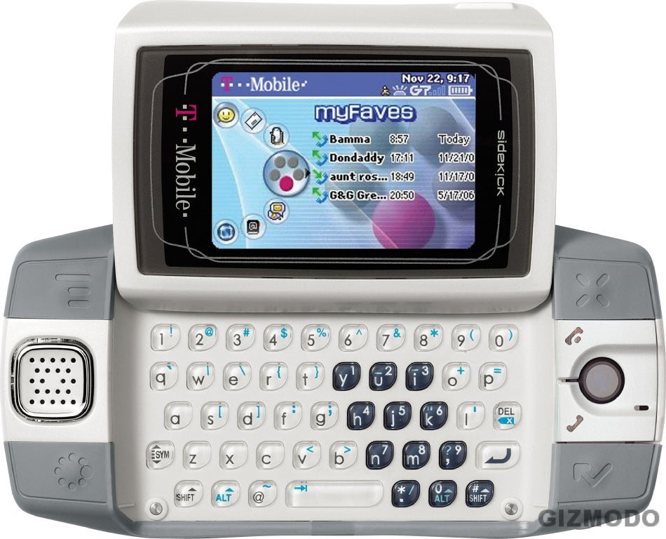 sidekick id official from t mobile rh gizmodo com T-Mobile Sidekick 2017 T-Mobile Sidekick 2017