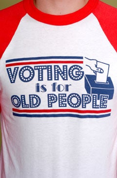 Illustration for article titled Voting is for Old People