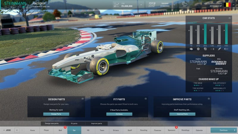 Illustration for article titled Motorsport Manager is coming to PC