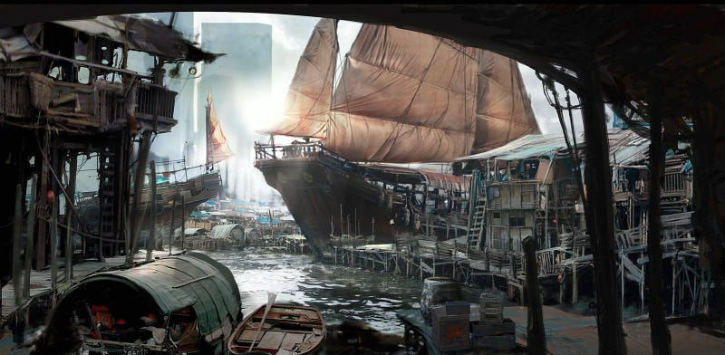 Illustration for article titled It's hard to travel through time in a sailing ship
