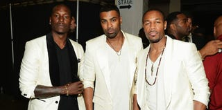 Tyrese, Ginuwine and Tank (Mark Davis/Getty Images)