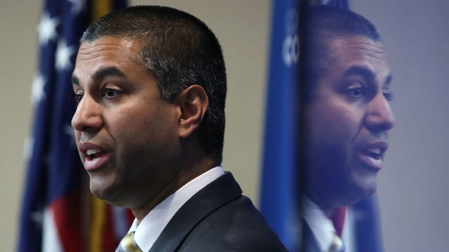 Ajit Pai Just Got His Second  Courage  Award of the Year