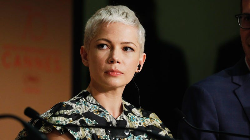 Michelle Williams at a press conference at this year's Cannes Film Festival. (Photo: Andreas Rentz/Getty Images)