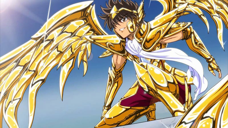 Illustration for article titled A New Saint Seiya Anime should be revealed soon!!