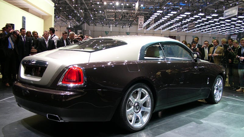 Illustration for article titled Rolls-Royce Wraith: This Is It