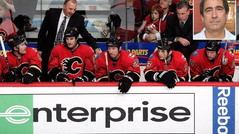 Illustration for article titled Calgary Flames Trying To Keep Fact That They're A Hockey Team From Landlord