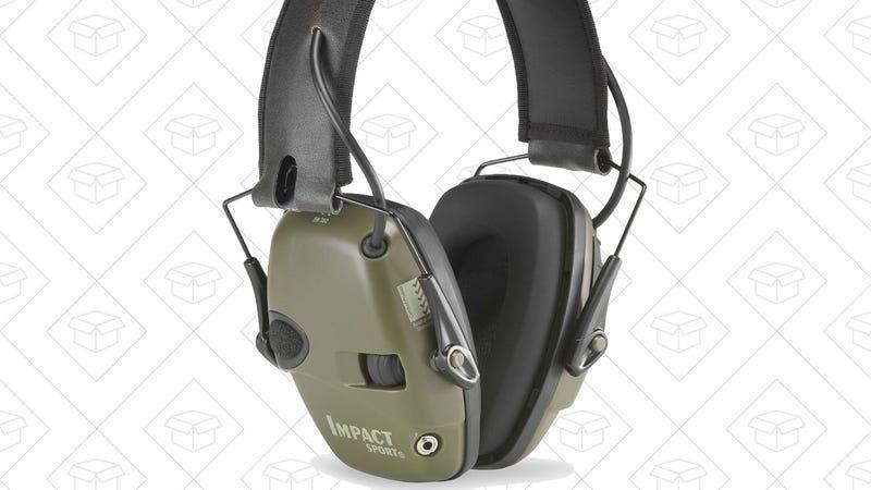 Howard Leight by Honeywell Impact Sport Sound Amplification Earmuffs, $27