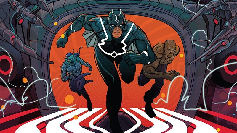 Illustration for article titled Black Bolt's prison break escapes the conventions of superhero storytelling