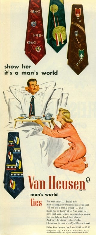 """Illustration for article titled """"Show Her It's A Man's World!"""""""