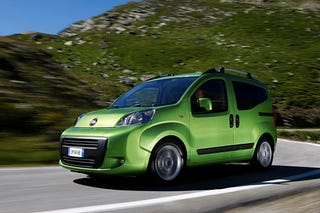 Illustration for article titled Fiat Fiorino Qubo Concept Revealed Ahead Of Paris Debut