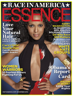 Illustration for article titled Kerry Washington Graces The Cover Of Essence