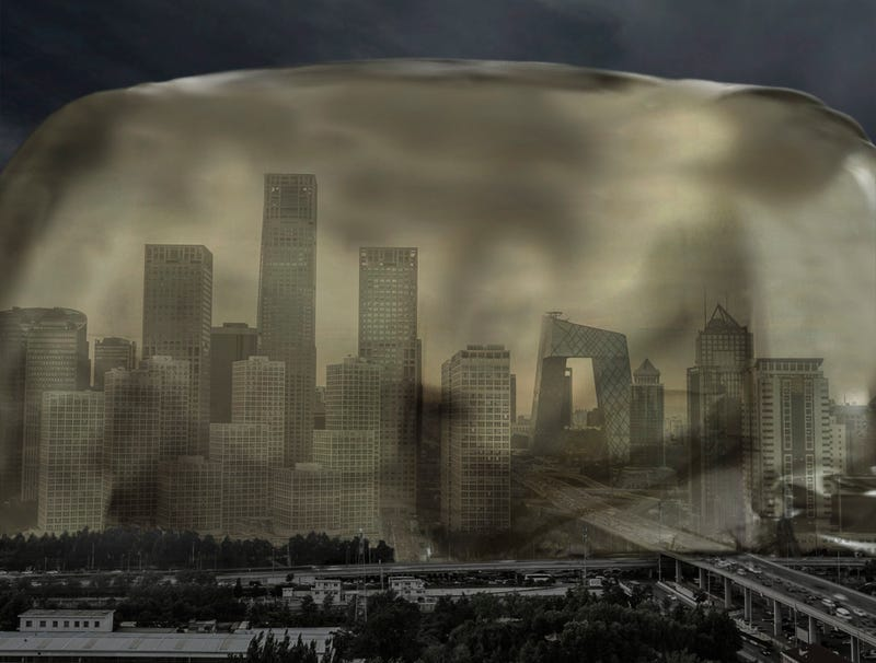 Illustration for article titled Beijing Air Solidifies