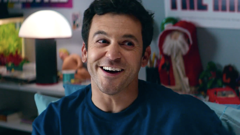Fred Savage explaining some tough truths to Deadpool.