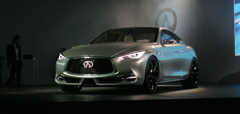 Illustration for article titled You'll Have To Wait Until 2016 For The Infiniti Q60 Coupe