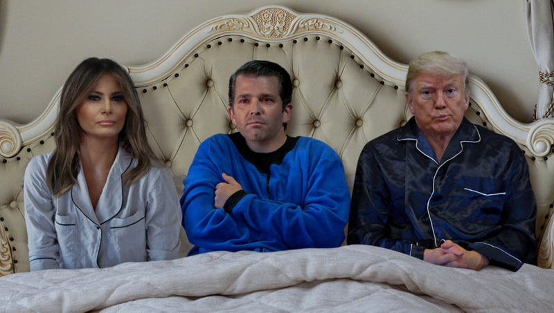 Illustration for article titled Frightened Don Jr. Asks If He Can Sleep In Dad's Bed After Bad Dream About Being Indicted