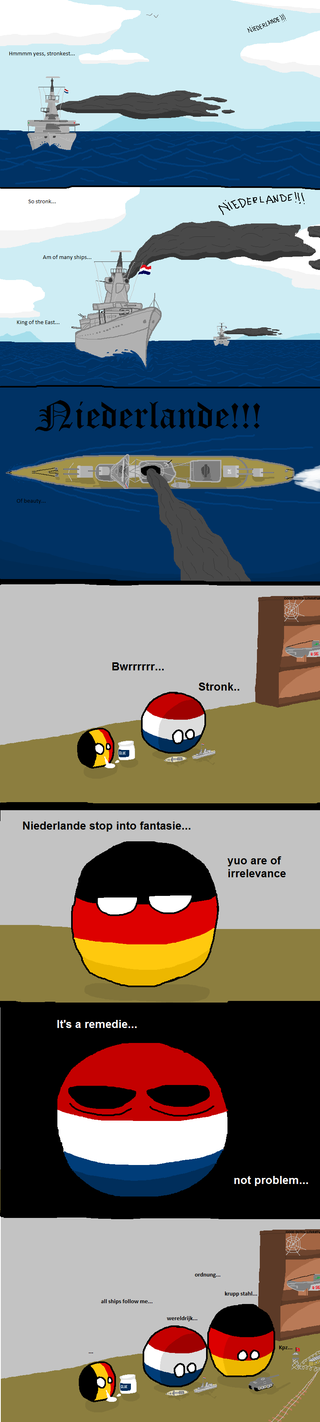 Illustration for article titled Daily Polandball: Reliving The Old Days.