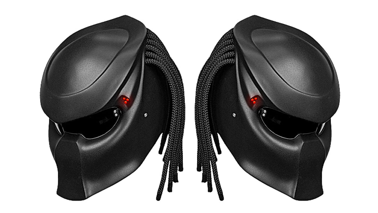 This Predator Helmet Can Make Even the Tiniest Vespa Badass