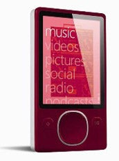 Illustration for article titled Red Zune 80 Heading to Retail Stores