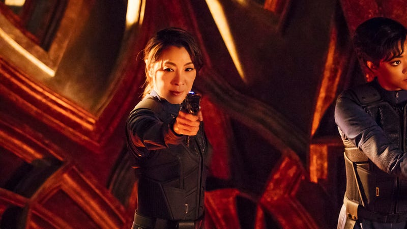 Illustration for article titled Michelle Yeoh is in talks for her own Star Trek spin-off