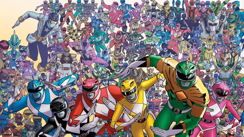 Image: Boom! Studios. Power Rangers #25 Variant cover art by Scott Koblish