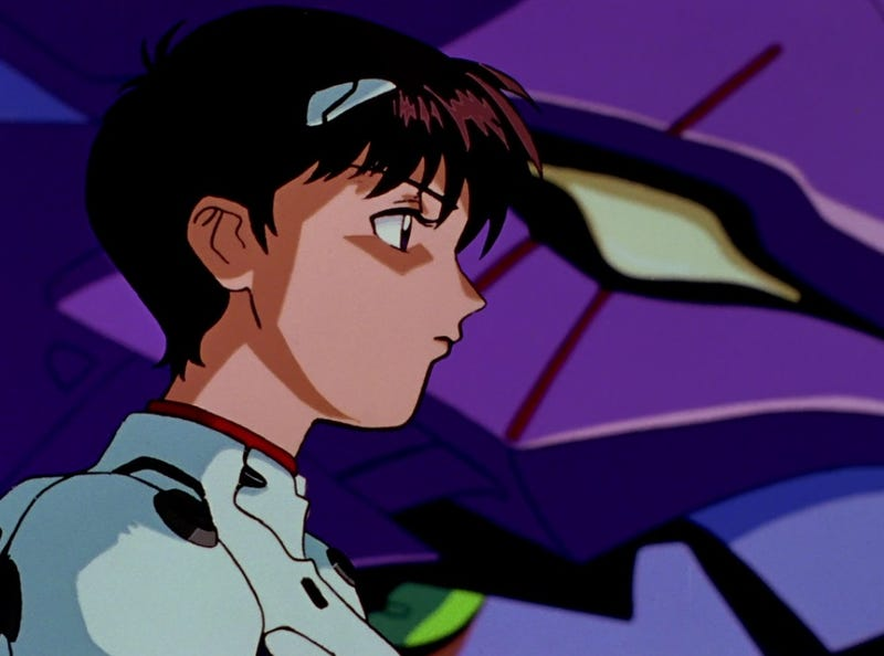 Illustration for article titled Neon Genesis Evangelion is about the cost and traumas of existence